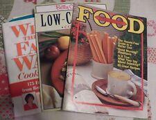 Cookbooks Lot Of 3- Low Calorie, Fat War, Low Fat, Food, Nutrition, Cooking-Diet