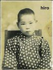 Japan Army old photo Imperial 1942 Pacific War Military Soldier boy kimono