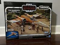 Star Wars The Vintage Collection Rise of Skywalker Poe Dameron's X-Wing Fighter