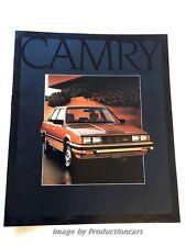 1983 Toyota Camry 16-page Original Car Sales Brochure Catalog