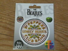 "The Beatles: ""Sgt. Peppers Band"" Vinyl UK Sticker Apple Corp 10cm x 12.5cm [MYX"