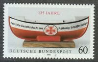 Germany 1990 MNH Mi 1465 Sc 1605 German Life Boat Institution **