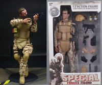 1/6 Army Desert ACU Shooter  Military 1:6 Soldier Ranger 12'' Figures Model Toys