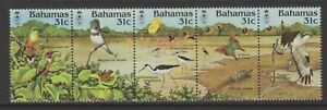 Bahamas - 1984, National Trust Anniversary, Birds set - MNH - SG 685/9