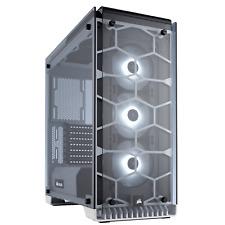Corsair CRISTAL SERIE 570x Caja para TORRE ORDENADOR GAMING Blanco Medio - USB
