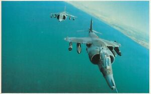 Falklands no  57 A brace of RAF Land Harriers in close formation over the Sea.