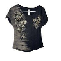 Harley-Davidson Women's Embellished Short Sleeve T-Shirt NWOT
