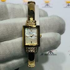 Pulsar Gold Tone Mother of Pearl Rectangular Dial Quartz Women's Watch Gift