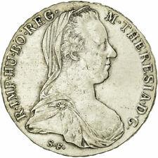 [#496986] Monnaie, Autriche, Joseph II, Thaler, 1780, Vienna, Refrappe, TTB+