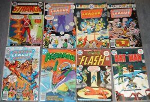 Vintage Lot of 27 DC Comics 1970s Justice League Brave Bold Shazam Flash P434