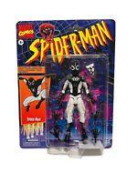 Marvel Legends Vintage Retro Spider-Man Negative Zone Pizza Suit Hasbro In Hand