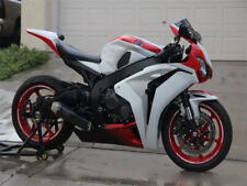Fairing White Red Injection Fit for 2008-2011 Honda CBR 1000RR Plastics g090