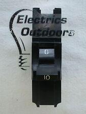 FEDERAL ELECTRIC 10 AMP MCB CIRCUIT BREAKER STABLOK STAB LOK