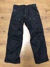 "G Star Raw Mens Storm Elwood Dark Denim Jeans Black Waist 29"" Inside Leg 27"""