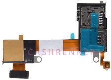 SD SIM Flex Speicher Karten Leser Memory Card Reader Sony Xperia M2 D2303