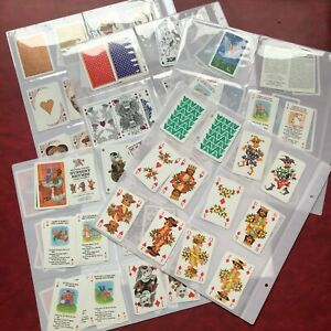 Vintage PLAYING CARDS Bulk lot 5 COURT SETS 142 cards CATS Nursery Rhymes RETRO