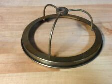 "New listing Antique Vintage Brass 6"" Lamp Shade Fitter Holder Light Part"
