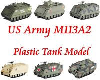 Easy Model US Army 1/72 M113A2 Plastic Model All M113A2 All Of Easy Model
