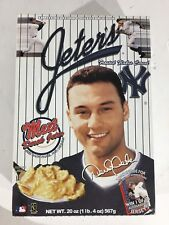 """Derek """"Jeter's NY Yankees Frosted Flakes Cereal"""" 2000 Limited Edition Box"""