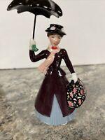 "6.5"" Enesco Disney Mary Poppins Porcelain Figurine - Detachable Umbrella"