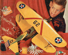 "Model Airplane Plans (UC):  Curtiss Hawk 1/12 Scale 31"" Bipe .19-.35 (Musciano)"