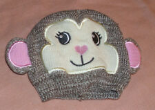 Newborn Animal Hat by So Dorable Monkey Face Brown/Pink Size 0-6 Months