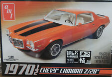 1970 1/2 CHEVROLET CAMARO Z/28 AMT 1:25 SCALE PLASTIC MODEL CAR  KIT
