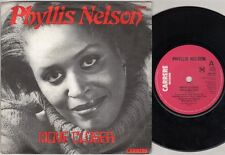"""PHYLLIS NELSON Move Closer  7"""" Ps, New Mix Edit B/W Somewhere In The City, Car 3"""