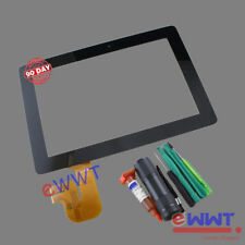 LCD Touch Screen Glass +UV Glue for Asus Eee Pad Transformer Prime TF201 ZVLT452