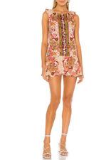 Free People Womens Summer In Tulum OB948223 Mini Dress Multicolour XS