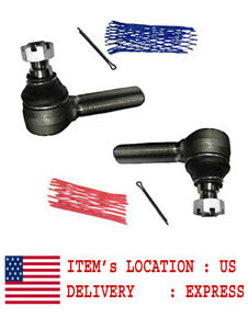 D88491 & D88492 Left & Right Hand Side Tie Rod End Fits Case Loader Tractor 580