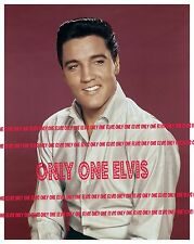 ELVIS PRESLEY in Publicity Pose 1962 8x10 Photo SMILING CLOSE UP