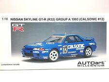 Nissan Skyline GT-R R32 Group A 1993 Calsonic HOSHINO #12 AUTOart 1:18 89376