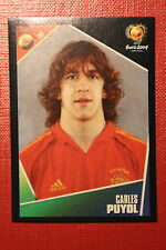 Panini EURO 2004 N. 76 ESPANA PUYOL  NEW With BLACK BACK TOPMINT!!