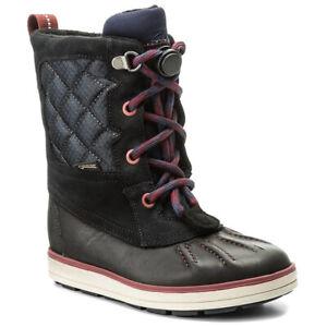 Clarks SYD HI GTX Goretex Boys Girls Waterproof Winter Boots 13 - 6 FG Fit BNIB