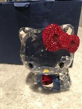 Swarovski Crystal Figurines Hello Kitty Red Bow, Large - 5135946 New