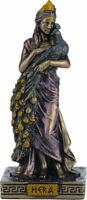 Griego Diosa Hera Reina Del Dioses Frío Reparto Bronce Miniatura 8.5cm/8.4cm