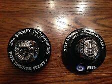 Exclusive 2012 & 2014 Los Angeles LA Kings Stanley Cup Champions Ring SGA