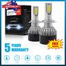 2xOSRAM H7 980W 140000LM LED Car Headlight Conversion Globes Bulb Beam Kit 6500K