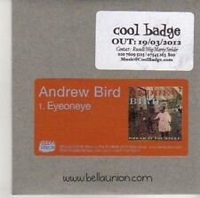 (CV53) Andrew Bird, Eyeoneye - 2012 DJ CD
