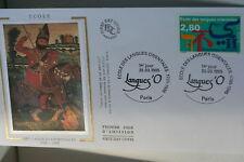 ENVELOPPE PREMIER JOUR SOIE 1995 LANGUES ORIENTALES