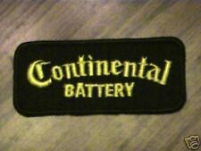 VINTAGE CONTINENTAL BATERY,AUTO,CAR,WORK MINT CAP PATCH