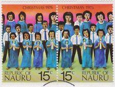 (NA79) 1976 Nauru Christmas set of 4 FU ow155-158