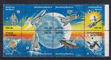 USA 1981 Weltraumfahrt / Space Shuttle Zusammendruck MiNr. 1481-1488 postfrisch