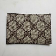 Brown Leather GG GUCCI patch SUFDEF Forward Observations ferro concepts wrmfzy