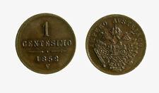 s421_2) LOMBARDO VENETO 1 CENTESIMO 1852 VENEZIA FRANCESCO GIUSEPPE I