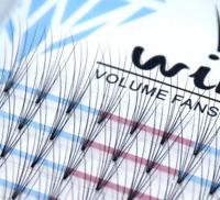 WINK Russian Lashes Volume Fans XD Mink Eyelash Extensions C D Curl Makeup 16row