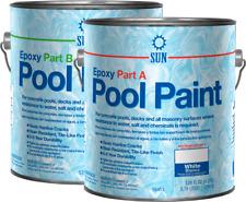 2 Part Epoxy Pool Paint By Sun Paints, White