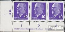 DDR 936X y DV with publication info Mat gumming unmounted mint / never hinged 19