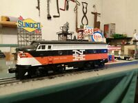 MTH RAILKING 30-4111E-1 NEW HAVEN F7A with Proto 2 in box & ready to work ! !